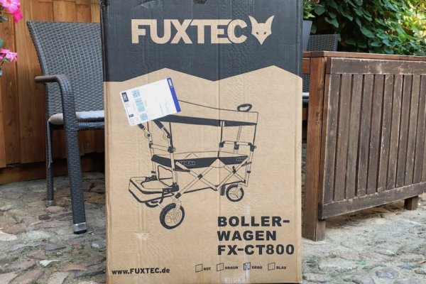 Fuxtec FX-CT800 faltbarer Bollerwagen im Praxistest_0750
