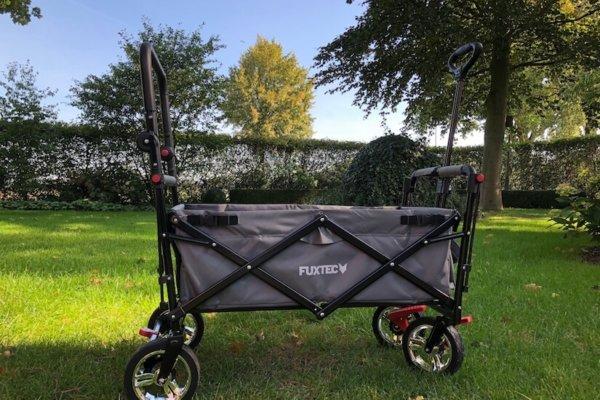 Fuxtec FX-CT800 faltbarer Bollerwagen im Praxistest_0758