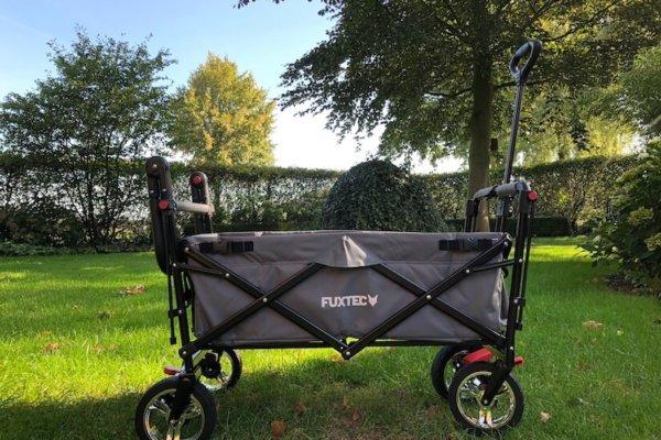 Fuxtec FX-CT800 faltbarer Bollerwagen im Praxistest_0759