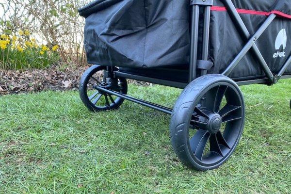 elvent wagonpro faltbarer Bollerwagen im Praxistest 3